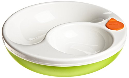 Lansinoh mOmma Mealtime Warm Plate, Green
