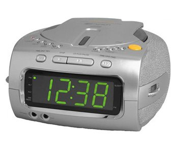 EMERSON CKD1100 CD-R/RW Stereo Clock Radio With Dual Alarms And Jumbo 1.2?Ç¥ Green LED Display