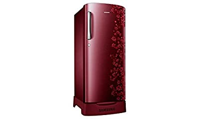 Samsung RR19H1835RX/TL Direct-cool Single-door Refrigerator (182 Ltrs, Red)
