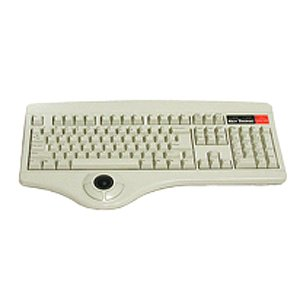 Beige USB Keyboard w/trackball