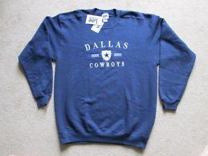 Vintage Dallas Cowboys NFL American Football Sweatshirt Jumper - Mens Large NWT