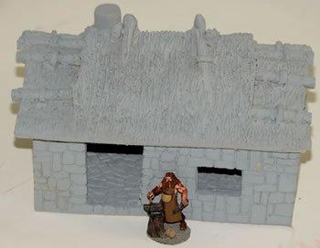 Blacksmith Worksh Miniature Terrain