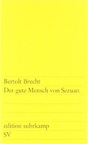 Der Gute Mensch Von Sezuan (German Edition)