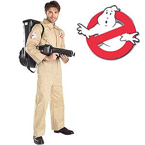 Ghostbusters - Men's Halloween Costume, Plus