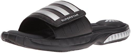 adidas-mens-superstar-3g-slide-sandalblack-silver-grey9-m-us