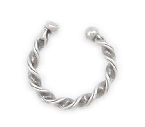 Bali Ear Cuff 925 Sterling Silver