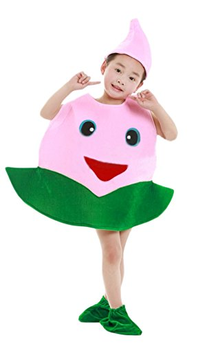 Ace Halloween Unisex Children's Kids Cute Peach Costumes