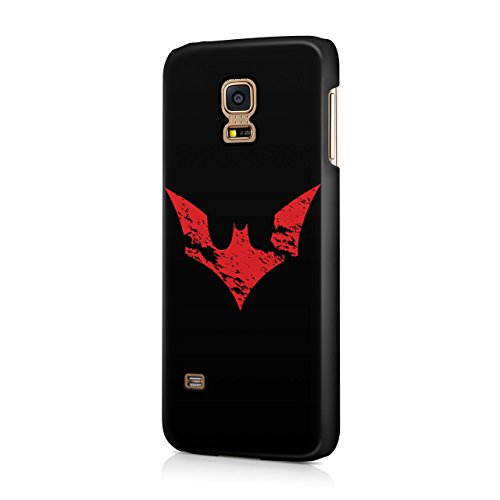 Batman Beyond Red Grunge Logo Hard Snap-On Protective Case Cover For Samsung Galaxy S5 Mini