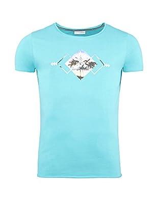 SUMMERFRESH Camiseta Manga Corta Blue (Azul Claro)