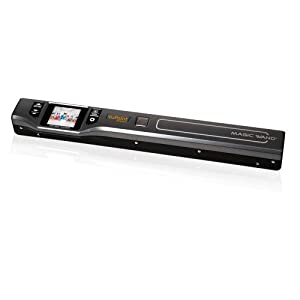 "VuPoint PDS-ST470PE-VP Compact Portable Wand Scanner with 1.5"" Color Viewfinder"
