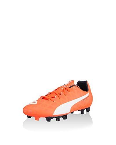 Puma Botas de fútbol Evo Speed 5.4 FG Jr Naranja