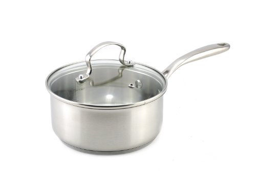 Kevin Dundon SKD2SPSS Sauce Pan, 2-Ouart, Stainless