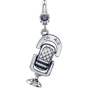 Microphone Charm Sterling Silver 69407