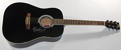 Michelle Branch The Spirit Room Authentic Signed Autographed Full Size Black Acoustic Guitar Loa