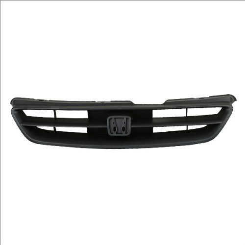 CarPartsDepot 400-20556, Mat Black/Dk Gray Grille Grill Assembly Replacement (Grill Accord 99 compare prices)