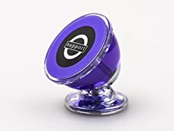 Car Mount, LinDon-Tech Universal Magnetic Car Mount Holder for Cell Phones GPS, Car Cradle, Cell Phone Car Holder for iPhone 6 / 6s 5s 5c 4 Samsung Galaxy S7 Edge S6 S5 Note 5 4(VM001-Purple)