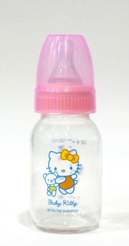 Hello Kitty Glass Baby Bottle