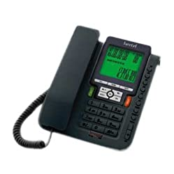 Beetel M71 CLI Corded Phone (Black)