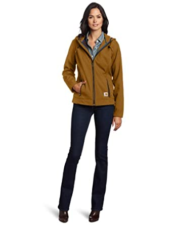 Carhartt Women's Bainbridge Jacket, Hazelnut, Small/Regular