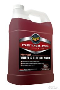 Meguiar's D14301 Detailer Non Acid Wheel & Tire Cleaner Gallon