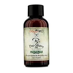Razor MD RX Pre Shave Oil - Herbal Blend- 56g/2oz