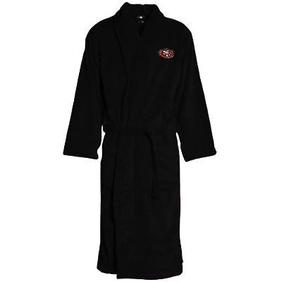 Amazon.com : NCAA San Francisco 49ers Team Plush Robe - Black : Sports