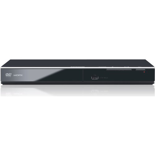 Panasonic Progressive Scan 1080P Up-Conversion Dvd Player With Cd Ripping And Tough Dust Resistant Design, Features All New Power Resume For Power Outages, And Video & Audio D/A Converters For Dvd/Cd Playback, Additional Feature Includes Enhanced File For