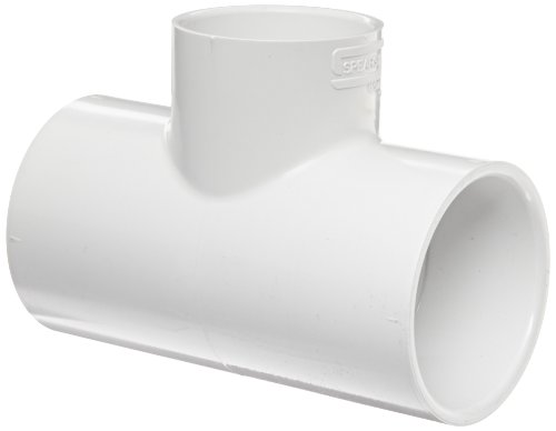 "Spears 401 Series Pvc Pipe Fitting, Tee, Schedule 40, White, 1"" Socket"