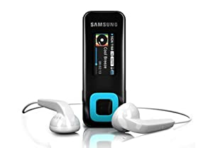 Samsung YP-F3 4GB Sports Clipper MP3 Player - Blue
