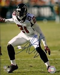 Autographed DeAngelo Hall 8x10 Atlanta Falcons Photo