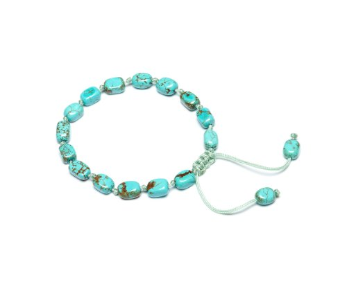 Lola Rose 'Nellie' Natural Blue Magnesite Bracelet