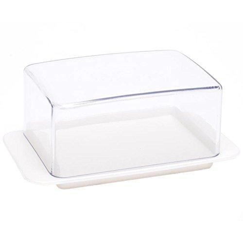 homiez-Butterdose-Mini-Butterbox-Butterbehlter-fr-halbes-Butterstck-125g-transparenter-Deckel-weier-Boden