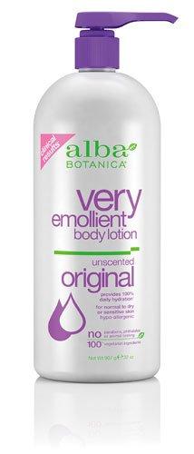 Alba Botanica Body Lotion, Very Emollient, Original Unscente