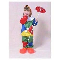 Alexanders Costume 26-140 10-12 Satin Clown Child