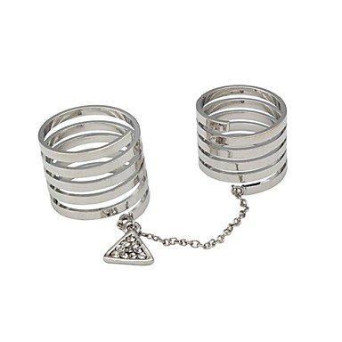 PEISHI J Diamond Fashion Ring(Color Random,Number of Random)