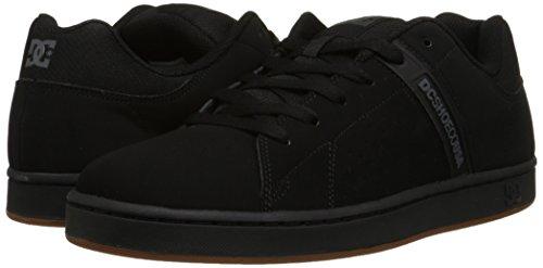 DC Men's Wage Skate Shoe, Black, 11 M US