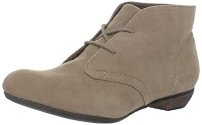 Big Buddha Women's BB-Reese Ankle Boot,Taupe Fabric,6 M US