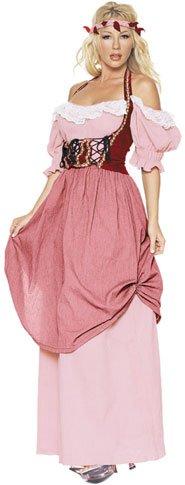 Women's Renaissance Dress Halloween Costume (Size: Medium 8-10)