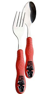 Zak Designs Star Wars Easy Grip Flatware Set, Fork And Spoon