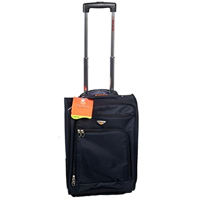 "20"" Ultra Light Travel Trolley Case Suitcase Black from XS-Stock.com Ltd"
