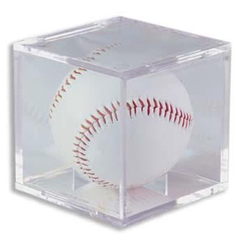 (1) One - Clear Ultra-PRO Baseball Cube Holder