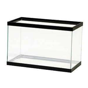 All glass aquarium aag10005 tank 5 5 gallon for 5 gallon fish tank dimensions
