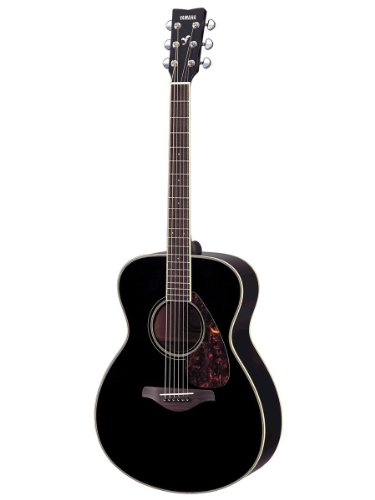 Yamaha FS720S Acoustic Guitar, Black available at Amazon for Rs.40399