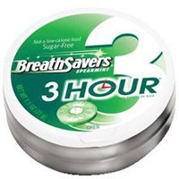 Hershey breath savers 3-hour spearmint - 1.1 oz, 8 ea
