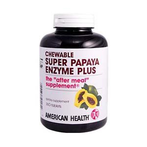 Images for American Health Products - Super Papaya Enzyme Plus, 360 chewable tablets