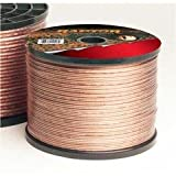 Raptor S12-50 50-Feet 12 Gauge Speaker Wire (Clear)
