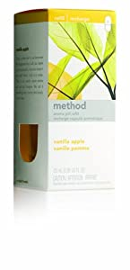 Method Pluggable Aroma Pill Refill, Vanilla Apple, .85-Ounce Diffuser Refills (Pack of 8)
