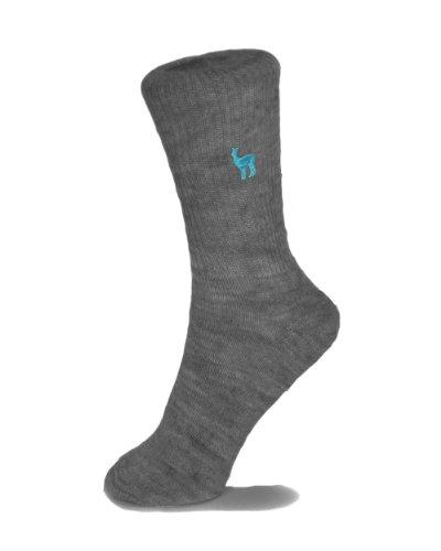 Shupaca Alpaca Blend Sock - Charcoal Size 36-39