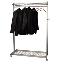 A professional garment rack