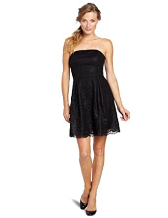 Lilly Pulitzer Women's Marielle Dress, Black Rack for this Lace, 8